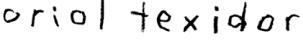 Oriol Texidor